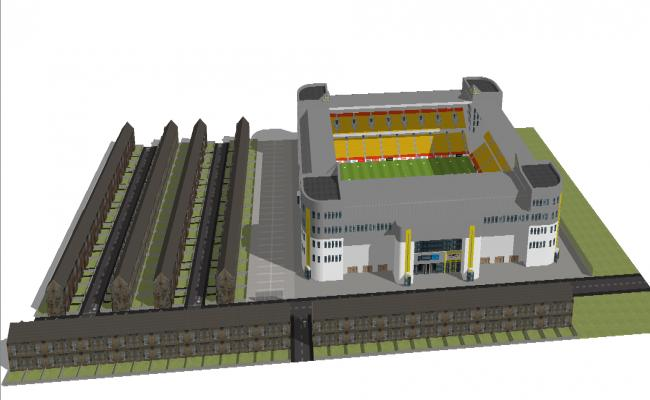 3d sport ground