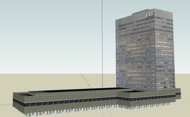 Hotel building details