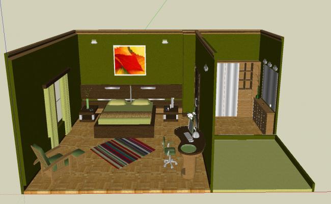 Bedroom furniture details