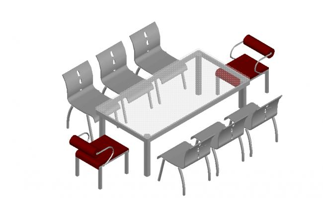 3d  office dining table