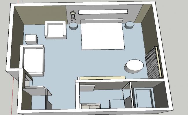 Drawing room furniture details