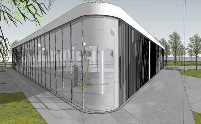 Art center Building
