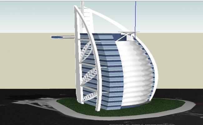3d Modern Building design