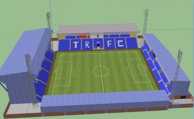 3d Stadium details