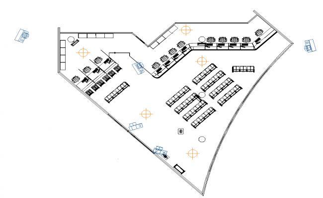 Bank office integer design
