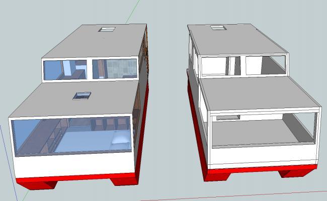 House boat design