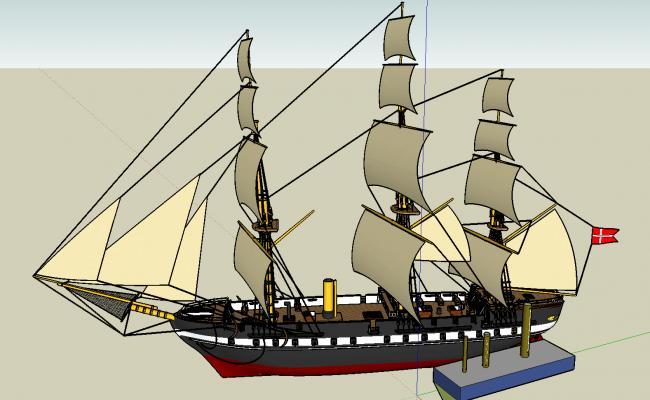 3d ship design