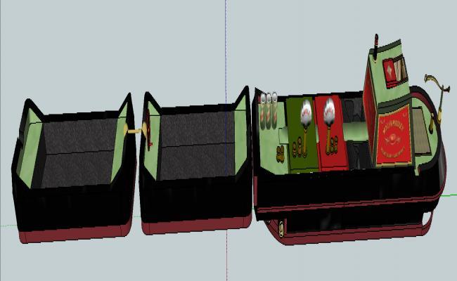 Trina boat design