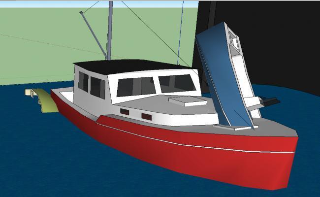 ship details 3d