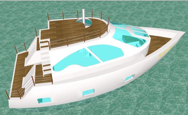 Motor boat design