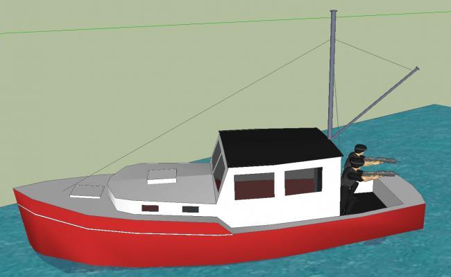 3d Ship details