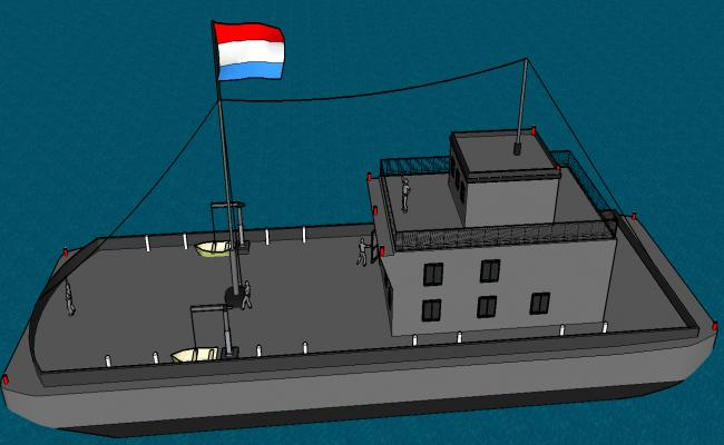 barge ship  details