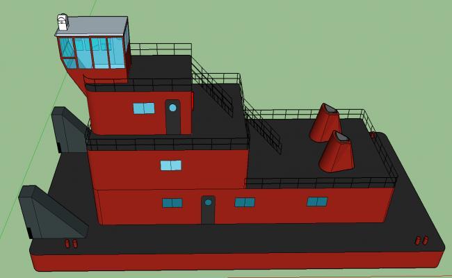 barge boat details