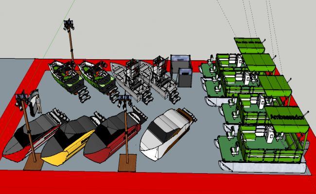 Boat station  design