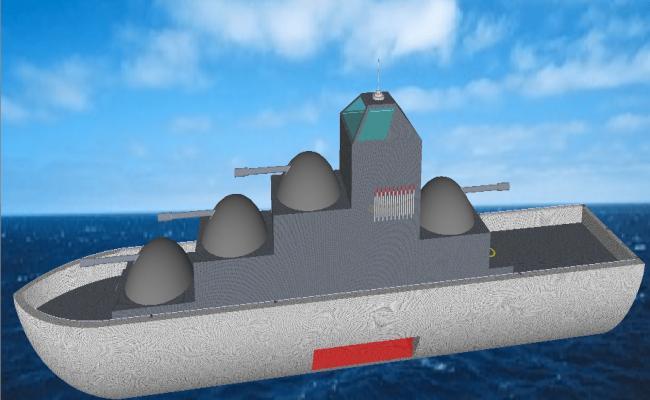 Boat design  3d