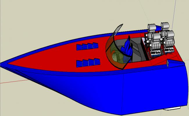 Speed boat details