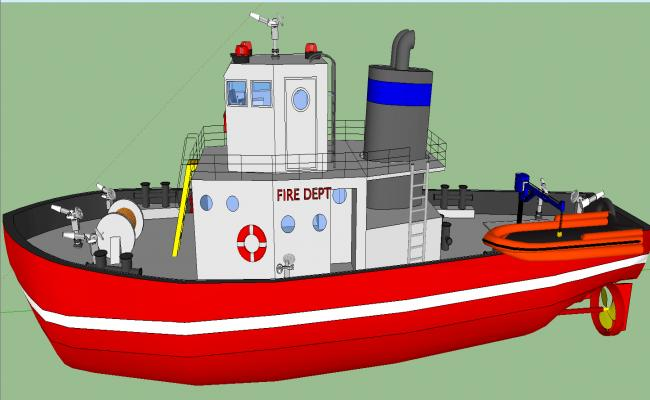 fire boat details