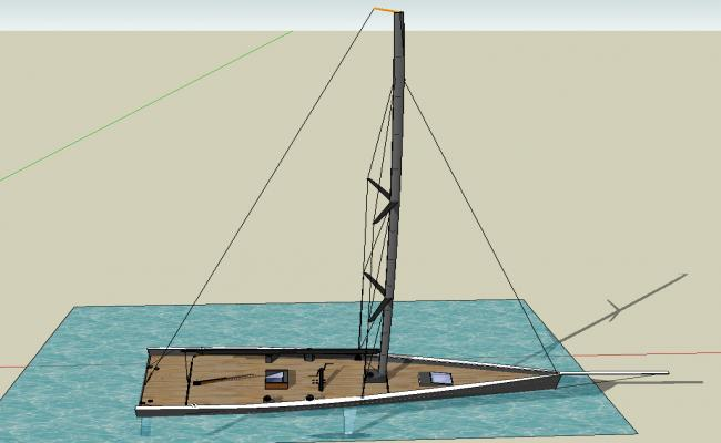 Boat 3d details