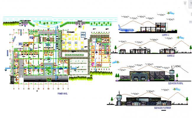 Airport plan design