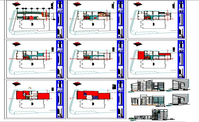 Office building details