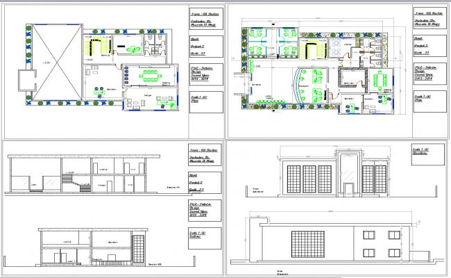 Bank layout plan