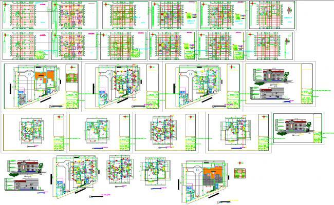 Villa layout project