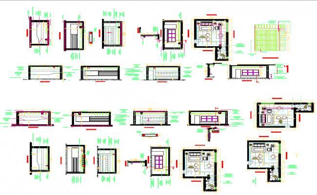 Office interior details