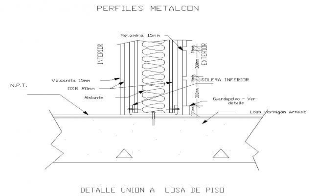 Metal Profile Detail