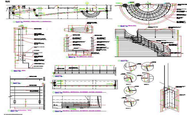 Circular stairway Design