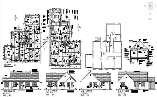 Modern House details