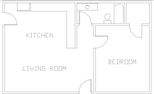 simple House layout