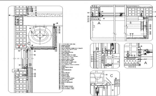 Window structure details
