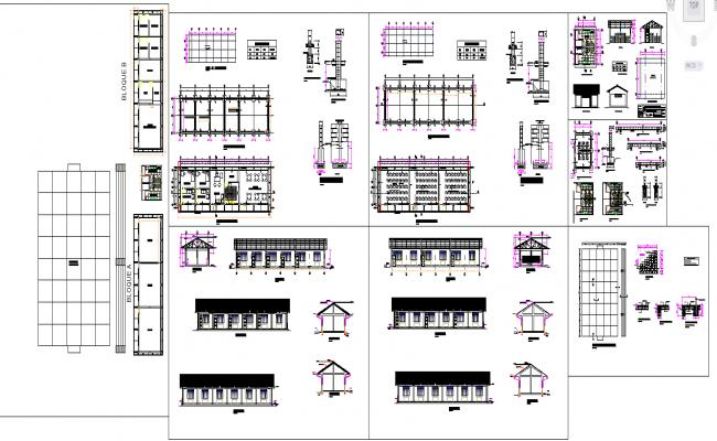 class room structure  details