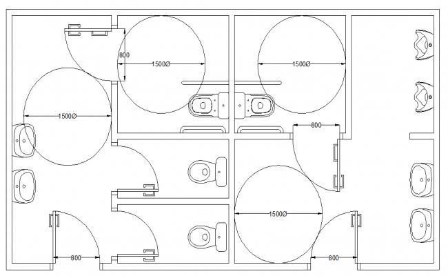 Bath Room Sanitary Equipment Design