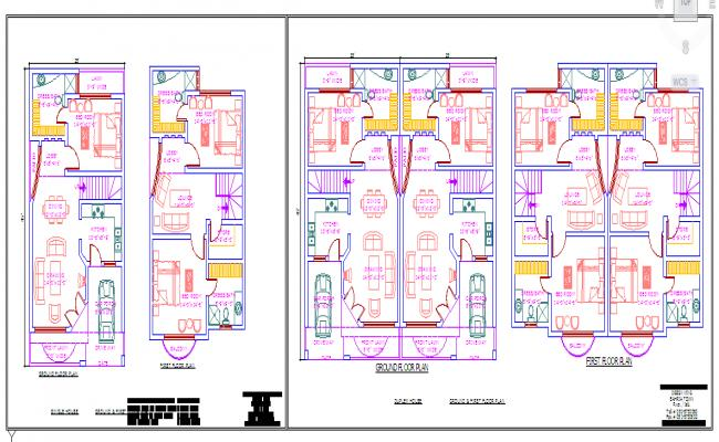 Residential house Lay-out