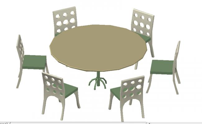 Modern Dining table details