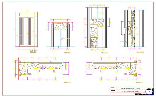 Door Frame Design