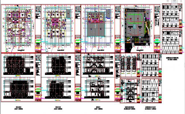 Architect  duplex house  details