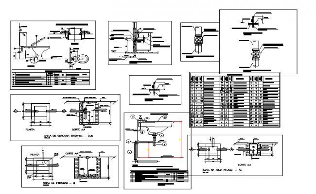Hydro Sanitary details