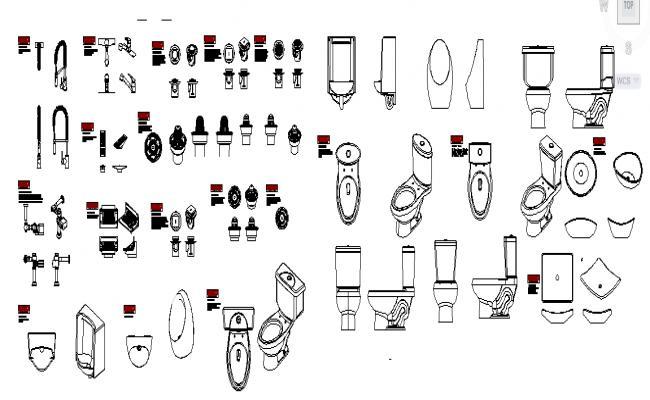 Modern Sanitary Ware Detail