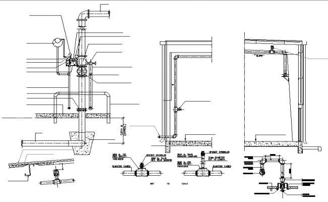 Drainage system details