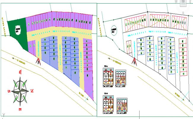 Society planning layout details