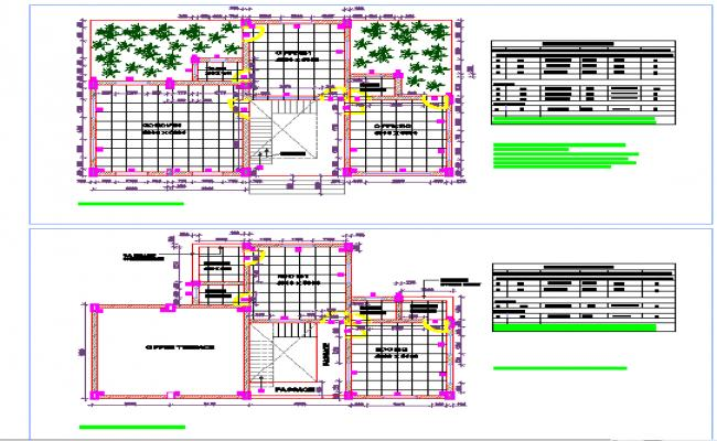 Office layout details