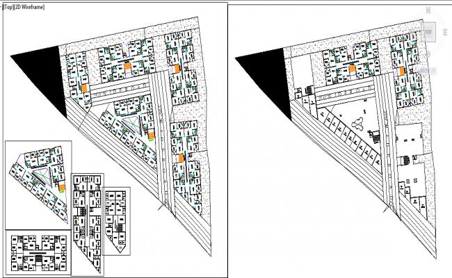 Residential Apartment layout  details