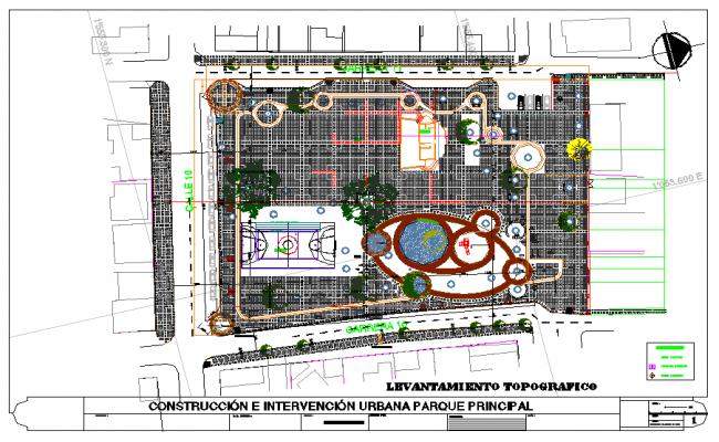 Sport Centre Lay-out Design