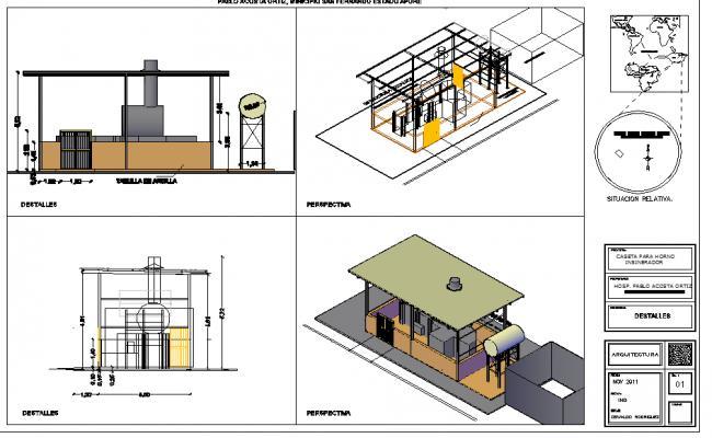 3D in Generator machine detail