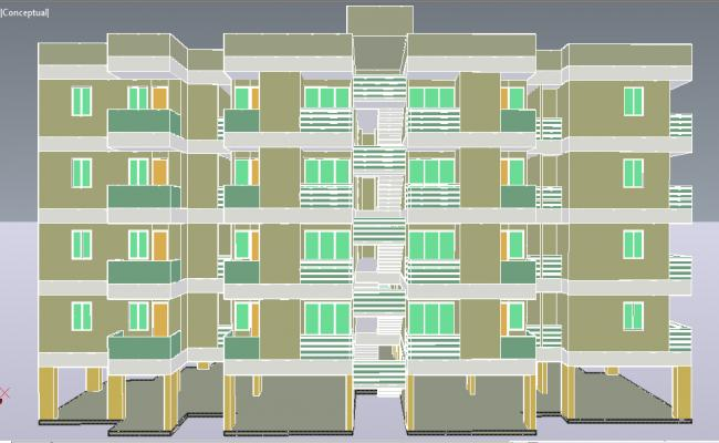 3D Apartment details