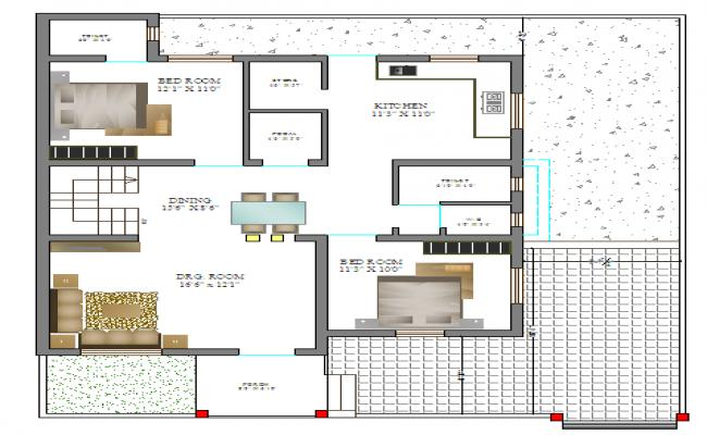 House Design Lay-out