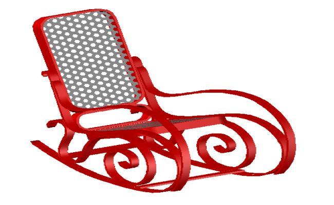 House metal chair