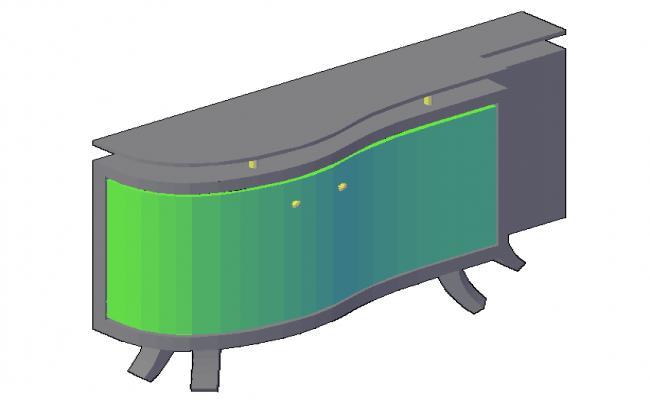 3D T.V. Unit design